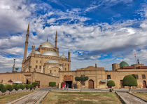 Mosque of Mohamed Ali  Cairo Egypt by Andy Doyle