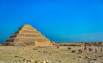 Step Pyramid of Saqqara by Andy Doyle