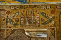 Hieroglyphics at Valley of the Kings von Andy Doyle