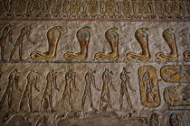 Hieroglyphics at Valley of the Kings by Andy Doyle