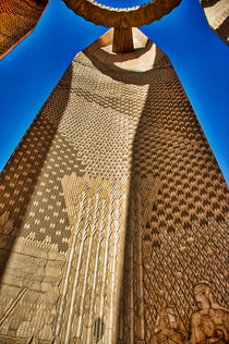 Friendship Lotus Flower at the Aswan High Dam by Andy Doyle