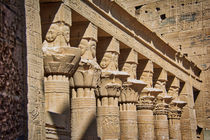 Pillars at Philae Temple in Aswan von Andy Doyle