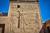 Philae Temple in Aswan by Andy Doyle
