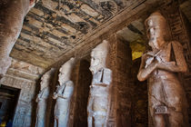 Ramses II inside Abu Simbel by Andy Doyle