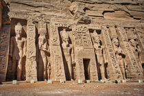 Temple of Nefertari at Abu Simbel von Andy Doyle