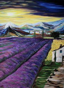 Sonnenuntergang in Provence von yana-kott