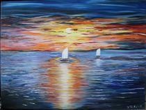 Sonnenuntergang auf Meer by yana-kott