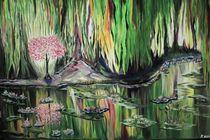der Teich im Wald by yana-kott