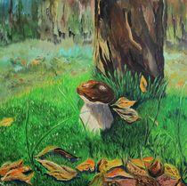 Ein Pilz, der sich für einen Frosch hält)) by yana-kott
