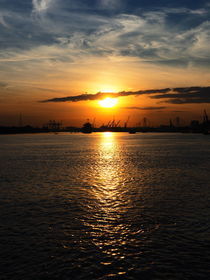 sunrise saigon river  von k-h.foerster _______                            port fO= lio