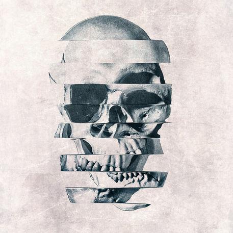Glitch-skull-mono