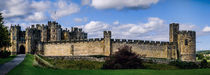 Alnwick Castle Panorama by Colin Metcalf
