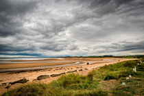 Alnmouth Beach. von Colin Metcalf