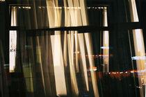 Am Zimmerfenster nachts  von Bastian  Kienitz