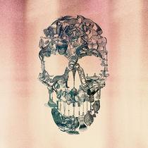 Skull Vintage by Ali GULEC