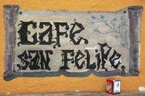 Cafe San Felipe von Juergen Seidt