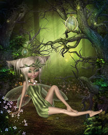 Waldfee by Conny Dambach