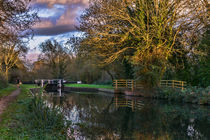 Autumn Reflections On The Kennet by Ian Lewis