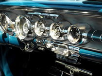 US-Autoklassiker Bonneville 1958 by Beate Gube