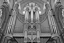 Orgel in schwarz und weiß von kattobello