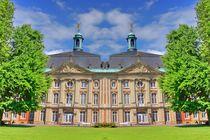 Schloss in Münster im Spiegelbild von kattobello