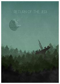 Star wars - Return of the Jedi von Print Point
