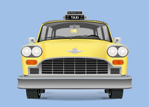 Yellow cab by Print Point