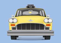 Yellow cab von Print Point