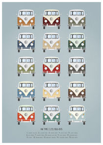 VW T1 colors by Print Point