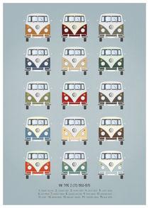 VW T1 colors von Print Point