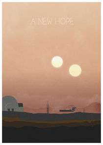 Star wars - A new hope by Print Point