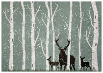 Forest scene von Print Point