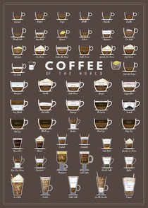 Coffee of the world von Print Point