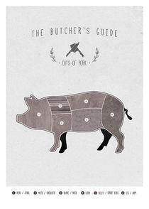 Butchers pig von Print Point