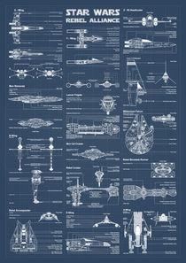Rebel Alliance infographic von Print Point