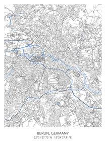 Berlin map von Print Point