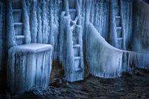 Eiszeit in Bodman am Bodensee II von Christine Horn
