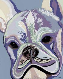 French Bulldog Denim Colors by eloiseart