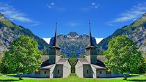 Kirche in Kandersteg by kattobello