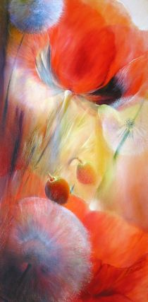 Mohn und Pusteblumen by Annette Schmucker