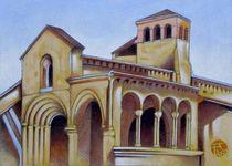 Postcard from Iglesia de la Trinidad, Segovia, Spain von federico cortese