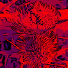 Blumenbilder-biene-red-blue-v024