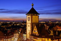 Schwabentor Freiburg am Abend von Patrick Lohmüller