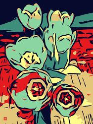 Blumenbilder-red-blue-100x75-3