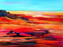 Arizona Abstract Landscape von eloiseart