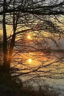 Kalter Morgen in warmen Farben by Bernhard Kaiser