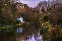 Autumn Afternoon On The Kennet by Ian Lewis