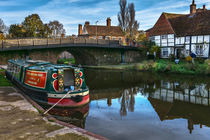 Hungerford Wharf by Ian Lewis
