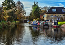 Hungerford Town Wharf And Lock by Ian Lewis