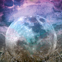 MOON under MAGIC SKY I-1 by Pia Schneider